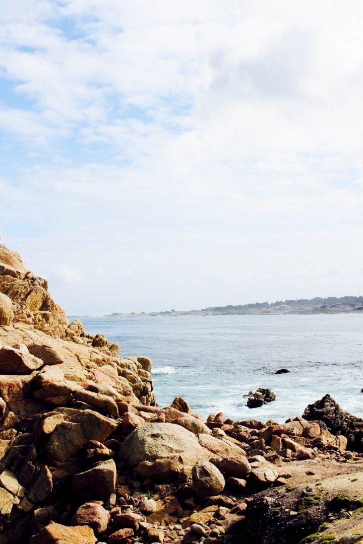 17 mile drive at pebble beach ocean