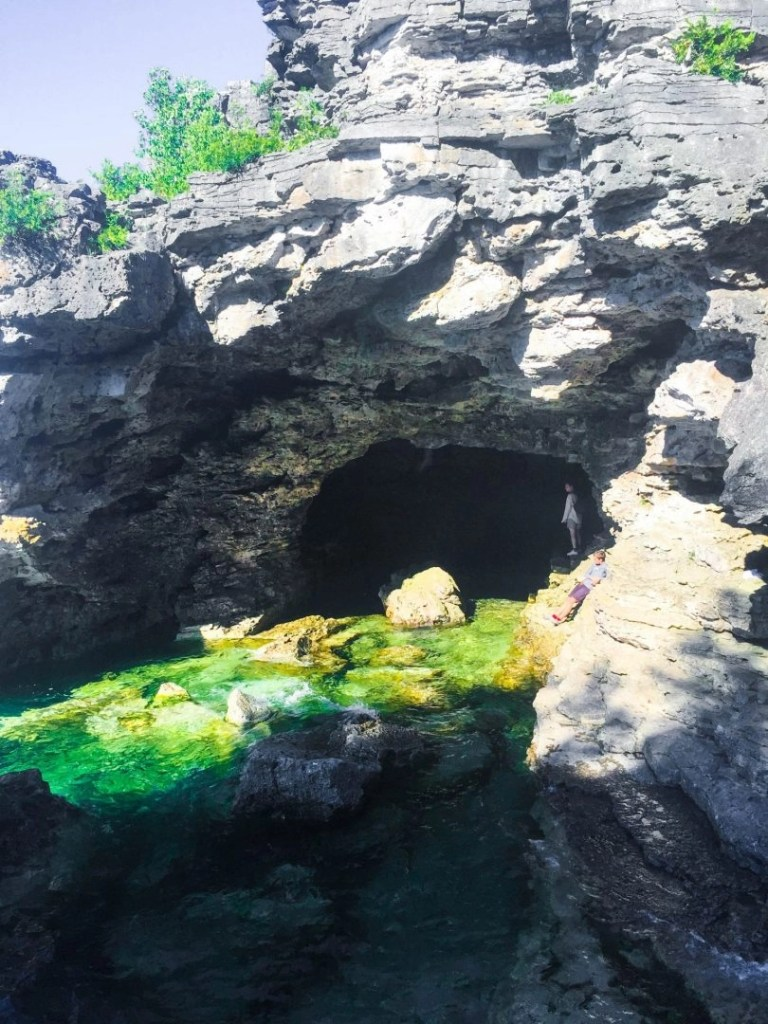 Bruce Peninsula National Park The Grotto