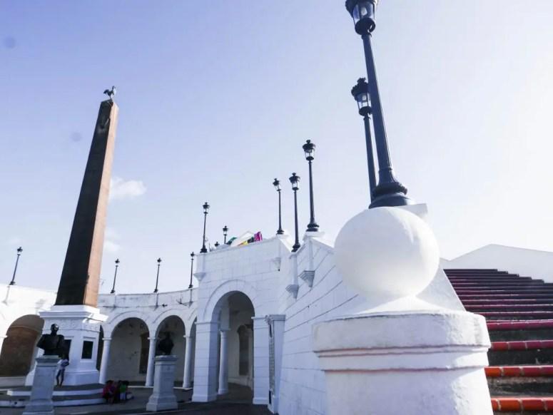 Plaza de Francia Casco Viejo Panama City