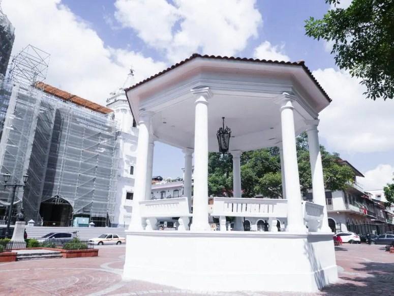 Plaza de la Independencia Casco Viejo Panama City