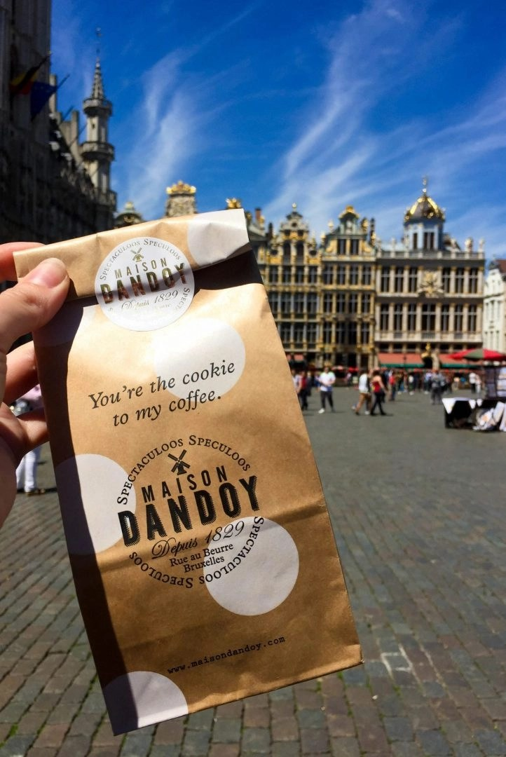 Maison Dandoy Speculoos Grand Place