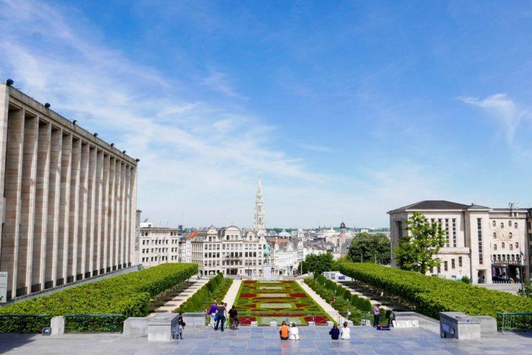 Jardin du Mont des Arts Brussels