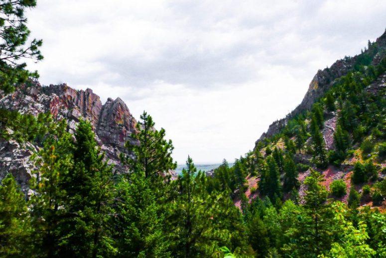 Eldorado Canyon Colorado