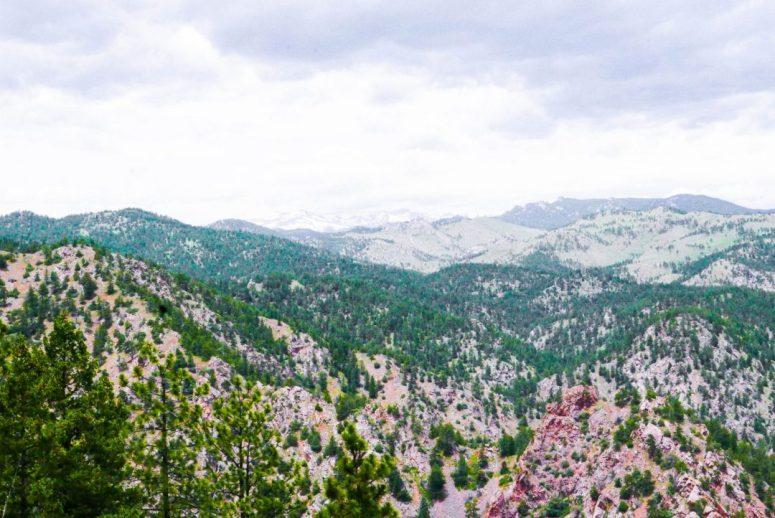 Eldorado Canyon Colorado Continental Divide