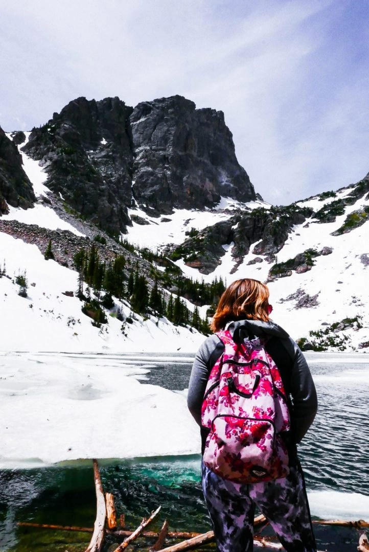 Madison Mountain Emerald Lake Rocky Mountain National Park
