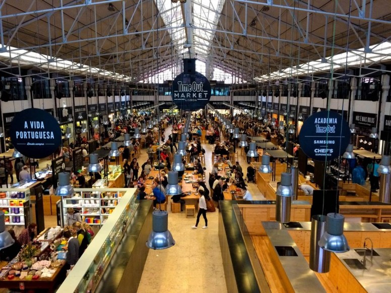Time Out Market Lisbon Portugal Best Food Markets in Europe