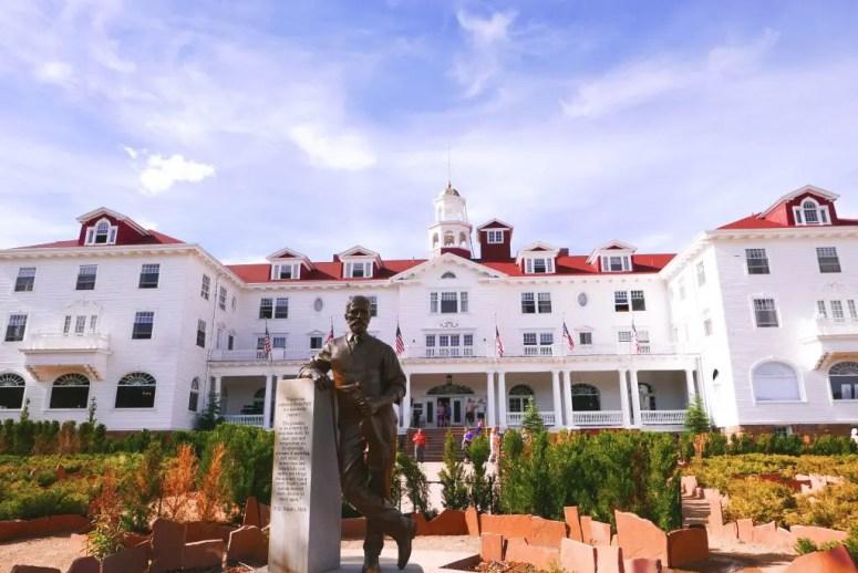 Freelan Oscar Stanley Hotel Statue