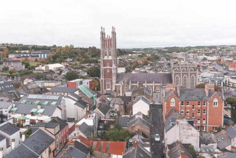 View from the Shandon Bell Tower Cork City Ireland