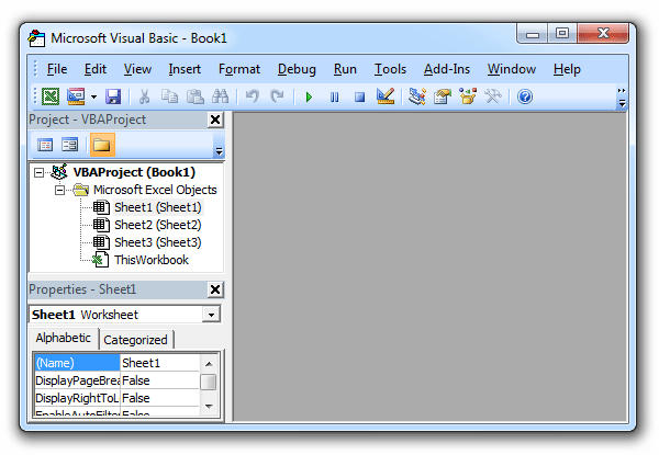 Where is Visual Basic Editor in Excel 2007, 2010, 2013 ...