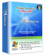 [文書相關] 讓Office 2007的選單重返Office 2003的懷抱 classic-menu-for-office