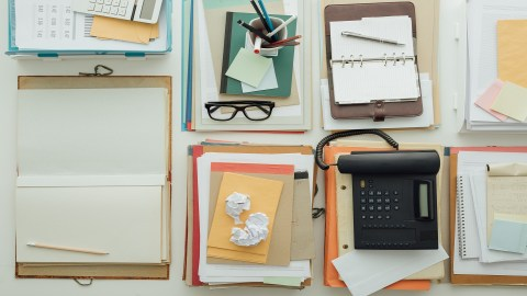 Paper Clutter and ADHD: Control Your Piles
