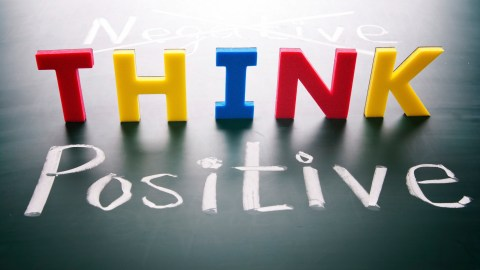 Thinking positive to find the plus sides of adhd.