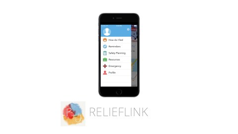 This image shows the ADHD app ReliefLink, which is great for improving productivity