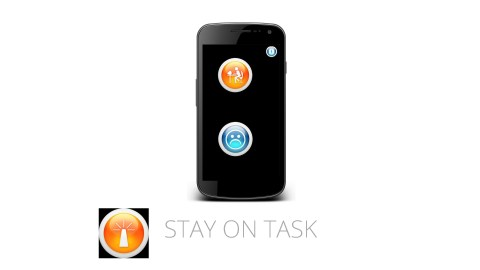 This image shows the ADHD app Stay on Task, which is great for time management