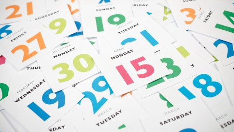 A jumble of calendar dates: what ADHD feels like depends on the day