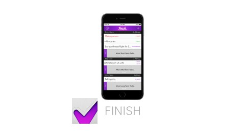 Finish is one of the best time management apps.