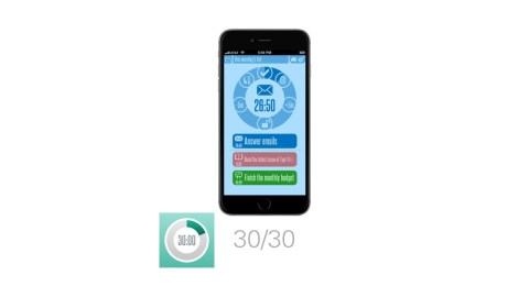 30/30 is one of the best time management apps.