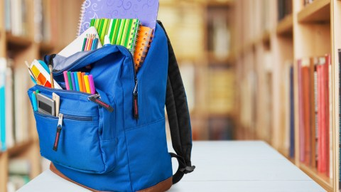 The best school planners should always be carried around in your bag as shown here.