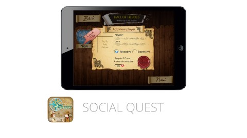 Social Quest is a great app that builds social skills for children with ADHD
