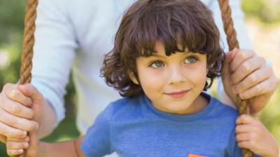 Boy on a swing might have ADHD or executive function disorder