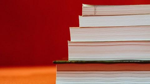 Teacher To-Do List: Stacked Textbooks