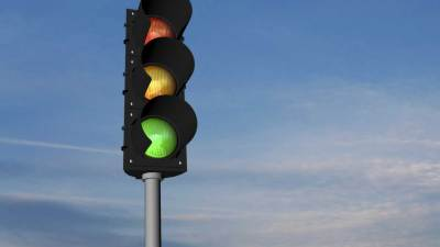 "A stoplight like the one used in a school behavioral management system known as ""The Stoplight System"""