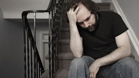 A worried man might have anxiety disorder, or his anxiety could be a symptom of ADHD.