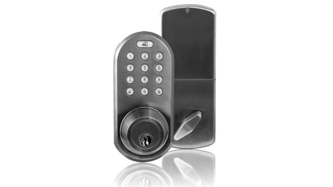 People with ADHD tend to forget things like keys so a keyless lock is a great solution.