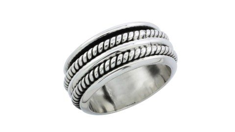 Adults with ADHD that want a more discreet fidget can use this spinner ring.