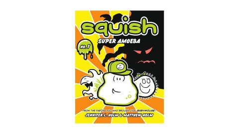 Squish is a great book series for children with ADHD to read