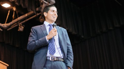 """Daniel Koh, the chief of staff to Boston Mayor Marty Walsh, has two degrees from Harvard, and was named one of Forbes magazine's """"30 under 30"""" at age 26. Yet, as a child, teachers deemed him a lost cause and he struggled to sit still in class. He still sees ADHD as a positive. As he told the Boston Globe, """"ADHD has caused me to learn practices and habits that I wouldn't have learned otherwise, and I see it as a strength."""" Image by Jonny Yao."""