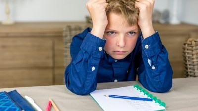 Boy with ADHD struggles in school might have learning disabilities