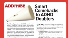 Is ADHD Real? You Bet! Smart Comebacks to ADHD Doubters