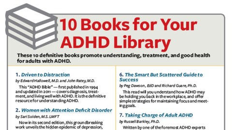 Best Books About ADHD: Top 10 List from ADDitude for Adults