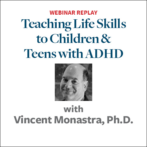 Teaching Life Skills to Children and Teens with ADHD