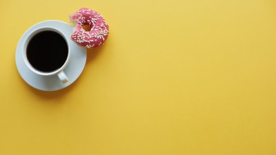 Coffee with caffeine, used sometimes as a treatment for ADHD
