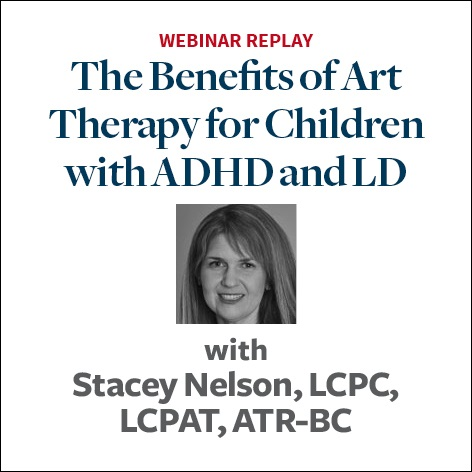 The Benefits of Art Therapy for Children with ADHD and LD