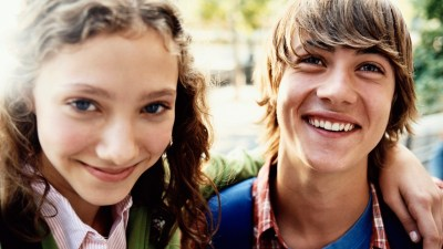 A boy and a girl with ADHD who are going through puberty