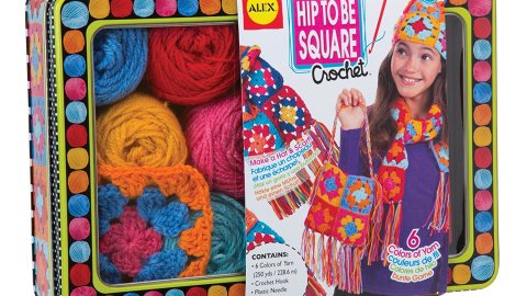 ALEX Toys Craft Hip to be Square Crochet Kit