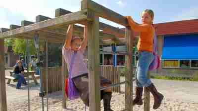 Recess on the playground