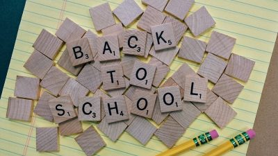 Back to school tiles
