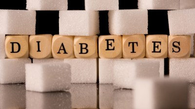 Blocks that say diabetes and when one is diabetic and has ADHD it is okay to treat both