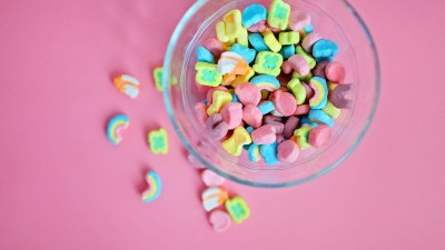 Bowl of sugary cereal with food dye in it is a terrible meal option for a child's ADHD diet