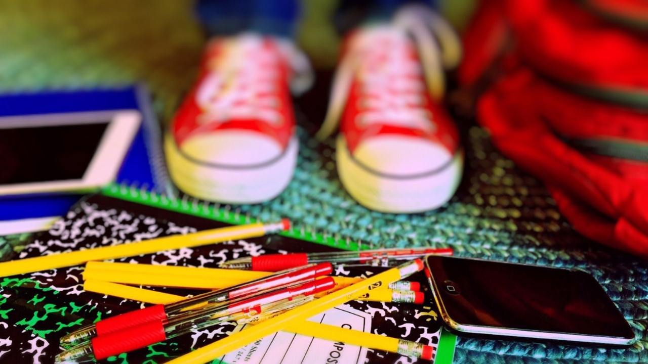School supplies and accommodations for a student with ADHD