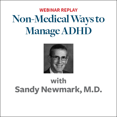 Non-Medical Interventions to Manage ADHD Symptoms