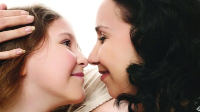 Mom and daughter with ADHD bond