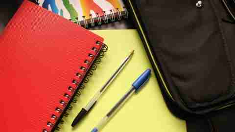 School services including notebooks
