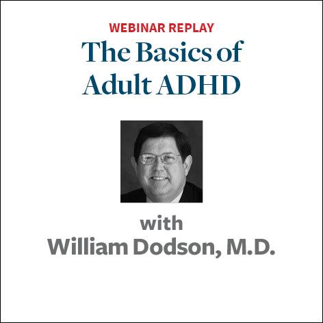 the basics of adult adhd
