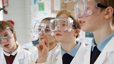 students with ADHD who are engaged and interested in science class