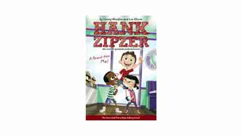 Hank Zipzer is a great series for ADHD children to read